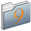 Classic Folder graphite icon