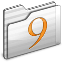 Classic Folder white icon