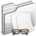 Documents-Folder-white icon