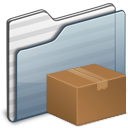 Download-Folder-graphite icon