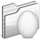 Egg Folder white icon