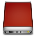 Internal-Drive-red icon