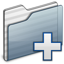 New Folder graphite icon