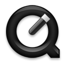 QuickTimePlayer Black icon