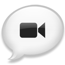 iChat White icon