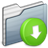 Drop-Box-Folder-graphite icon