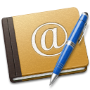 Address-Book-Oldschool-blue icon
