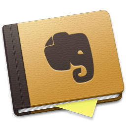 Evernote Brown Alt icon
