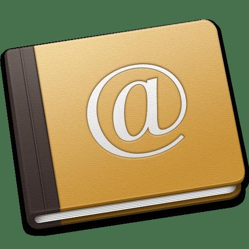Address Book Oldschool icon