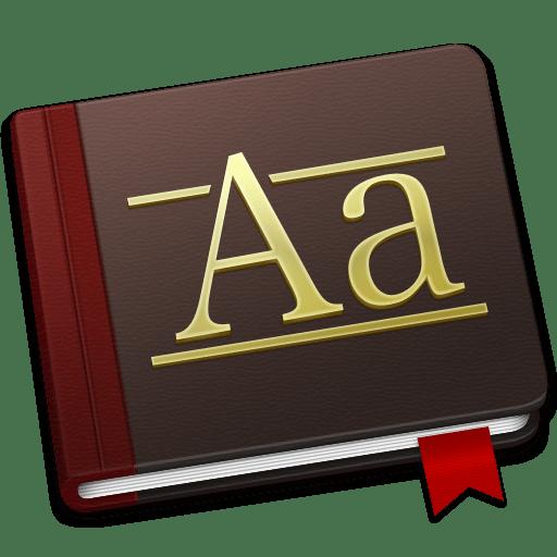 Font-Book-Alt icon