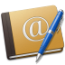 Address-Book-Oldschool-blue icon