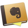 Evernote-Brown-Alt icon