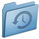 Blue-Backup icon