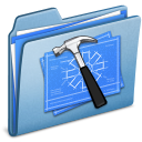 Blue Developer alt icon