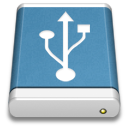 Blue-External-Drive-USB icon