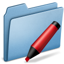 Blue-Marker icon