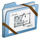 Blue-Sketch icon