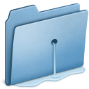 Blue Water leak icon
