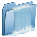 Blue Waterfall icon