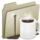 Lightbrown Coffee alt icon