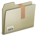 Lightbrown Downloads icon