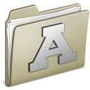 Lightbrown Font icon
