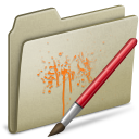 Lightbrown Paint icon