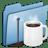 Blue-Coffee-alt icon