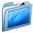 Blue-Desktop icon