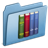 Blue-Library icon