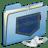 Blue-Pocket-iPod-shuffle icon