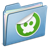 Blue Sticker icon