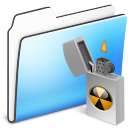 Burnable Folder alt smooth icon