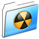 Burnable Folder smooth icon