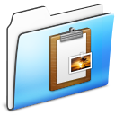 Clipboard-Folder-smooth icon