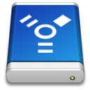 Drive Blue FireWire icon