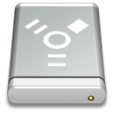 Drive-Gray-FireWire icon