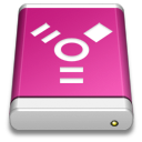 Drive Pink FireWire icon