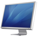 Cinema-Display-Diagonal-blue icon