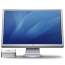 Cinema Display Macmini blue icon