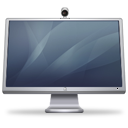 Cinema Display iSight graphite icon