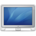 Cinema-Display-old-front-blue icon