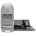 Power Mac G4 FW 800 open icon