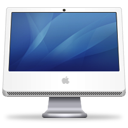 iMac blue icon