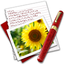 Diary-Photo-Sunflower icon