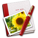 Notebook Photo Sunflower icon