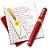 Diary-Bookmark icon
