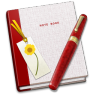 Notebook-Bookmark icon