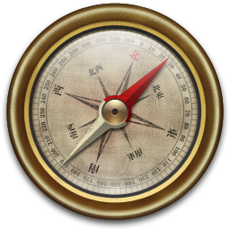 Compass Vintage icon