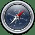 Compass-Blue icon